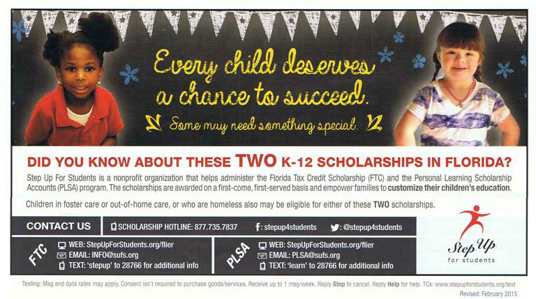 lighthouse private christian academy scholarships